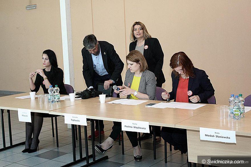 Wałbrzych: Debata na temat aborcji