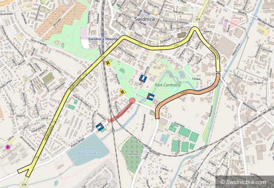 Świdnica: Rozpoczyna się przebudowa ulicy Sprzymierzeńców