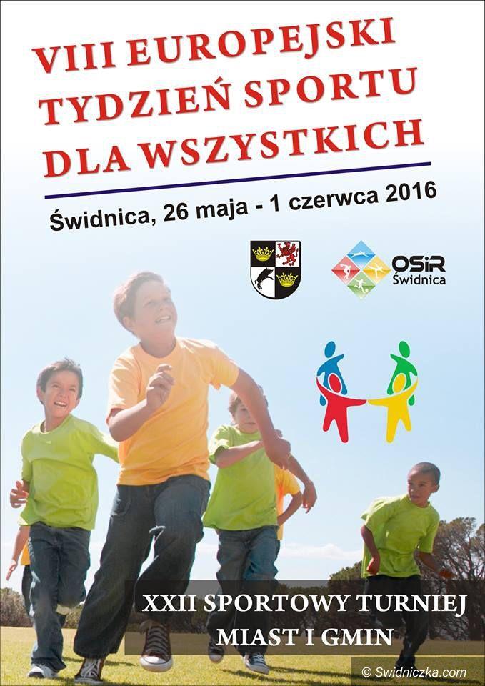Świdnica: Europejski Tydzień Sport dla Wszystkich także w Świdnicy