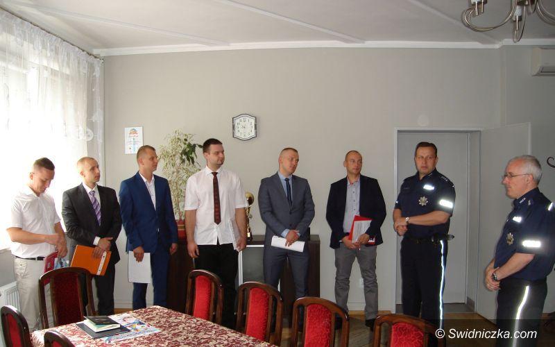 Świdnica: Nowi policjanci