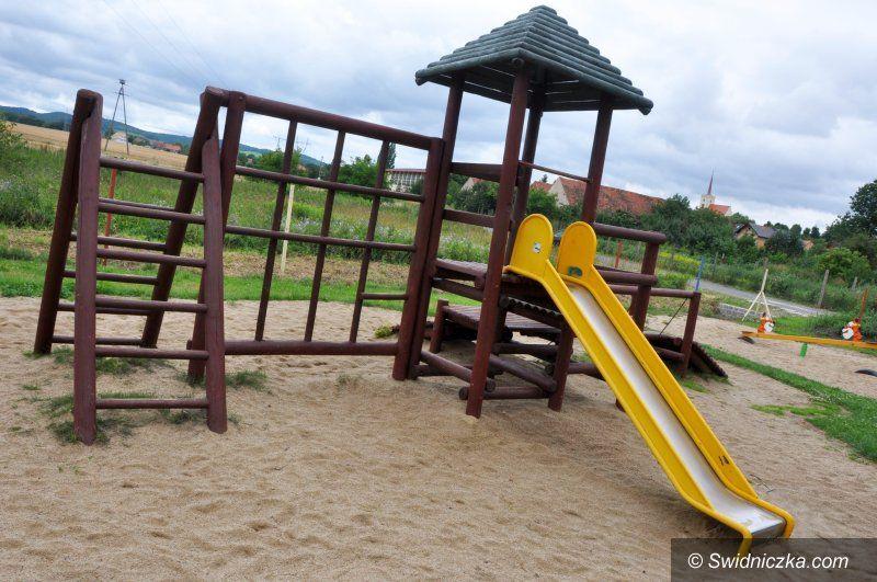 Witoszów Dolny: Plac zabaw w Witoszowie Dolnym już wkrótce