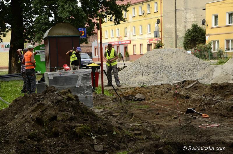 Mrowiny: Centrum wsi w Mrowinach zmienia swój wygląd