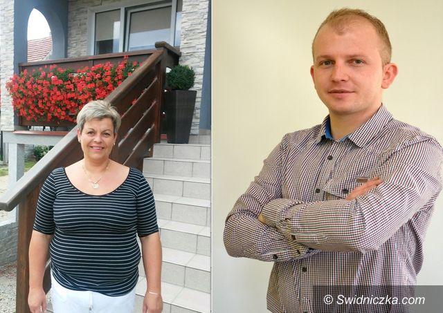 Marcinowice: Starościna i Starosta dożynek