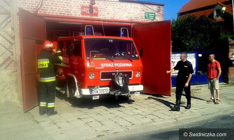 Żarów: Strażacy po inspekcji gotowości bojowej