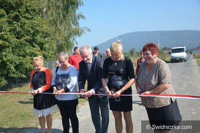 Mysłaków/Wirki: Nowa droga transportu rolnego