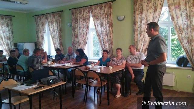 Marcinowice: Pracują nad wizją rozwoju swoich sołectw