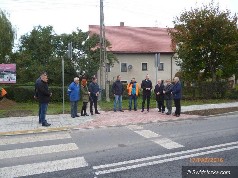 powiat świdnicki: Droga Boleścin–Krzczonów już po remoncie