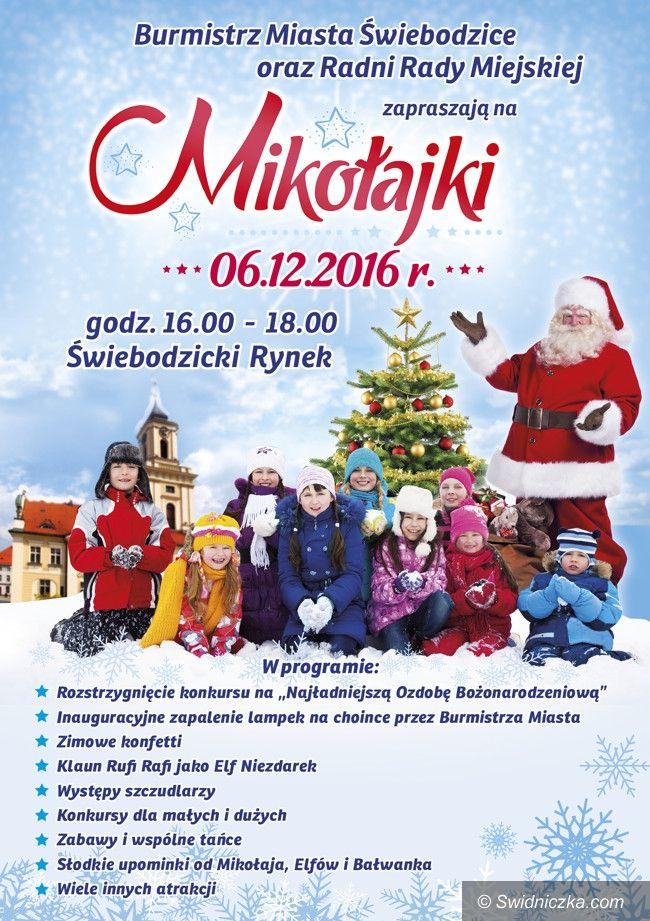 Świebodzice: Mikołaj zaprasza dzieci do Rynku