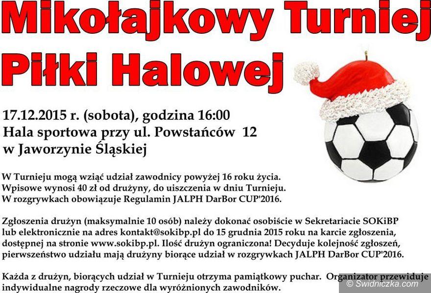 Jaworzyna Śląska: Mikołajkowy Turniej Piłki Halowej