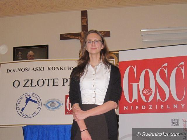 Marcinowice: Złote pióro… Elizy Moczurad