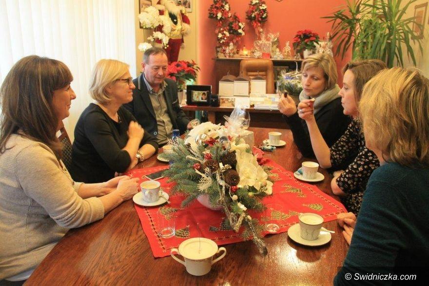 Świebodzice: Goście z Jilemnic na świebodzickim jarmarku