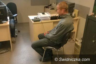 """Świdnica: Fałszywy """"gazownik"""" zatrzymany przez świdnickich policjantów"""