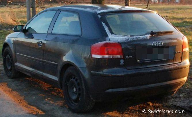 Świdnica: Świdniccy policjanci odzyskali skradzione audi a3