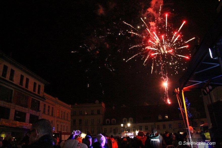 Świebodzice: Świebodzice przywitały Nowy Rok