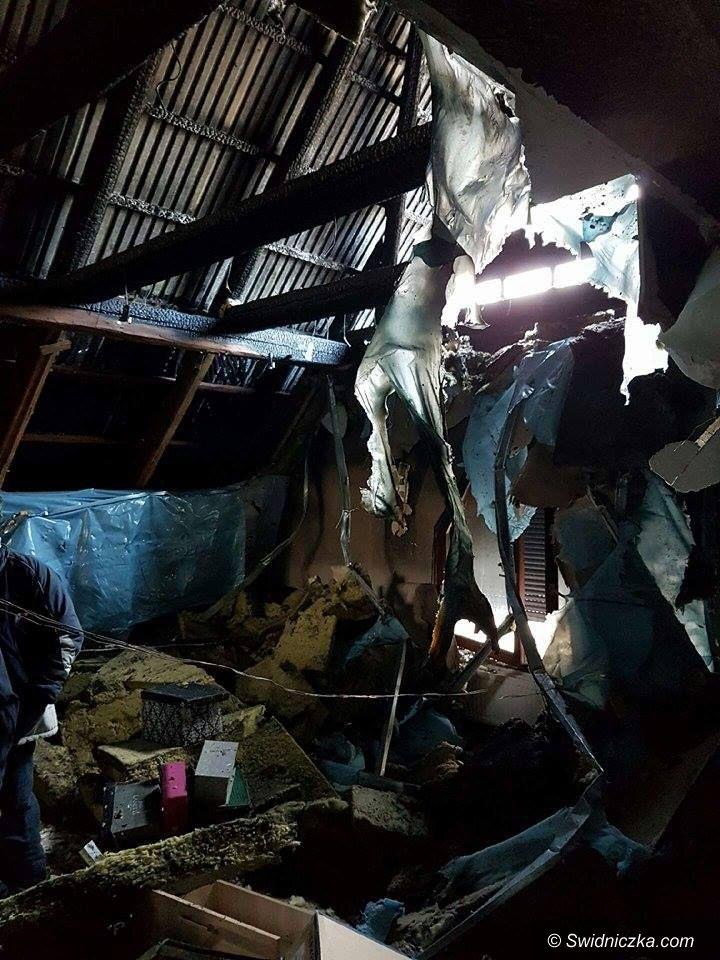 Boleścin: Kolejny pożar w gminie Świdnica