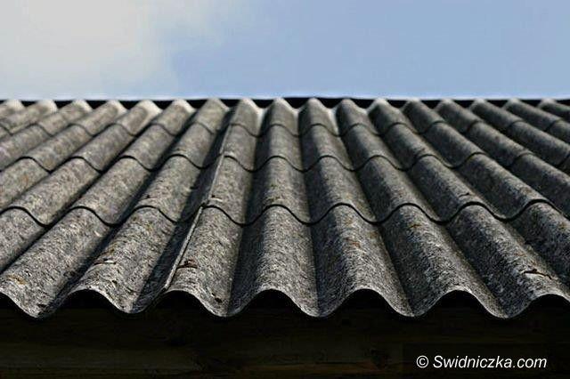 Dobromierz: Gmina Dobromierz walczy z azbestem