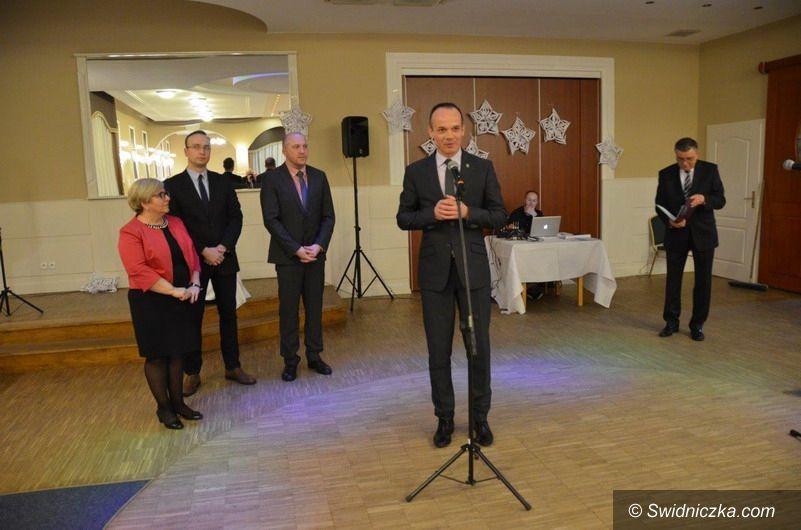powiat świdnicki: Opłatkowe spotkanie z kombatantami