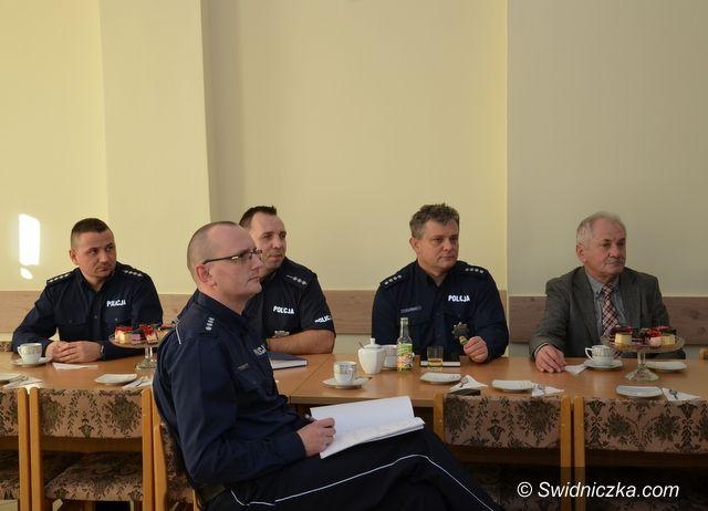 Marcinowice: Podsumowanie roku w marcinowickiej policji