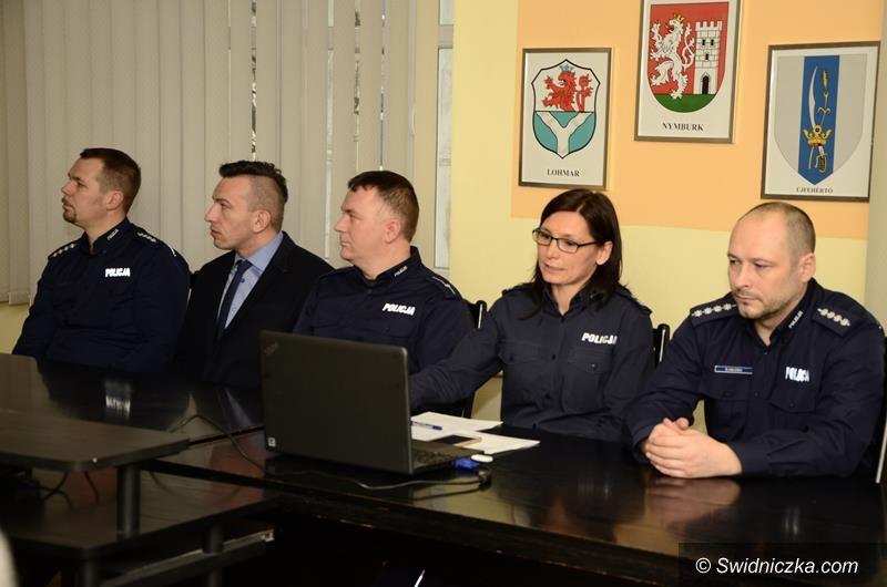 Żarów: Roczna odprawa policji w Żarowie