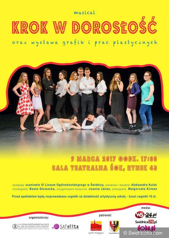 Świdnica: Uczniowie z III LO w Świdnicy wystąpią na deskach teatru