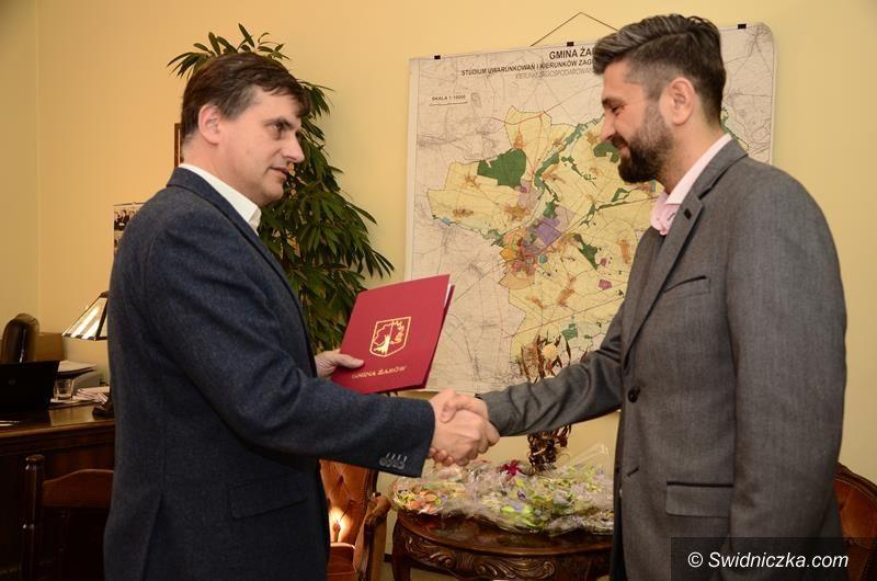 Żarów: Nowy dyrektor Gminnego Centrum Kultury i Sportu w Żarowie