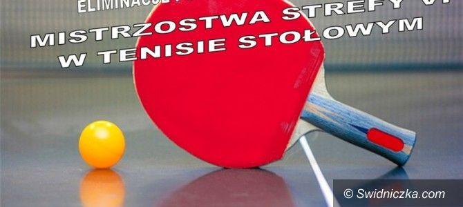 Dobromierz: Rozgrywki tenisa stołowego stały na wysokim poziomie