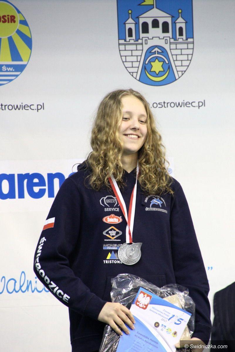 Świebodzice: Świebodzicka pływaczka Wicemistrzynią Polski