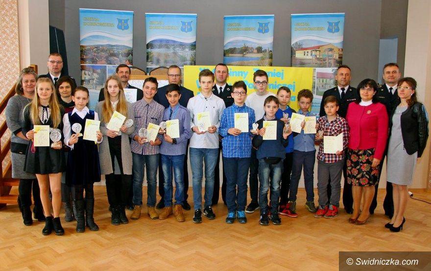 Gniewków: XI Gminny Turniej Wiedzy Pożarniczej w gminie Dobromierz