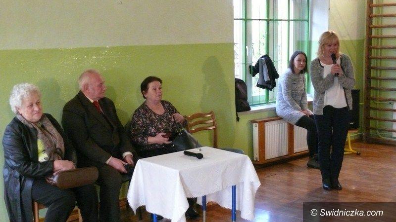 Olszany: Spotkanie z sołtysami w PSP Olszany