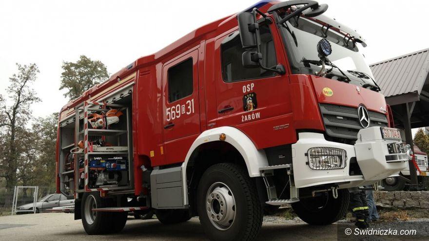 Żarów: Umowa na zakup wozu strażackiego podpisana