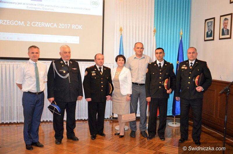 Strzegom: Współpraca strażaków na medal