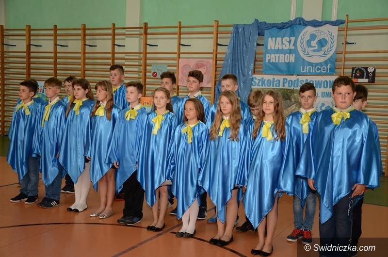 Imbramowice: UNICEF od 5 lat patronuje SP w Imbramowicach