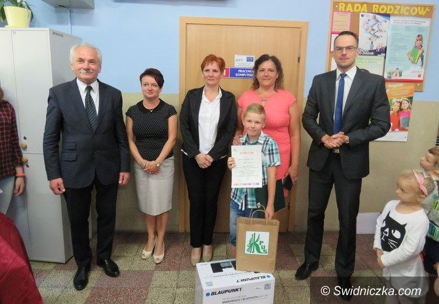 Strzelce: Bartosz Kozina ze Szkoły Podstawowej w Strzelcach wyróżniony w kraju