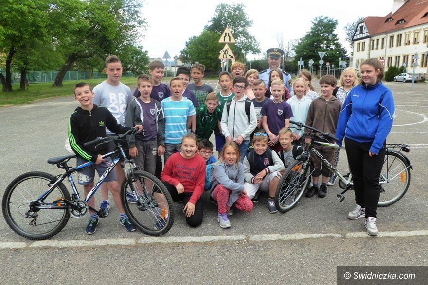 Świdnica: Młodzi adepci ruchu drogowego