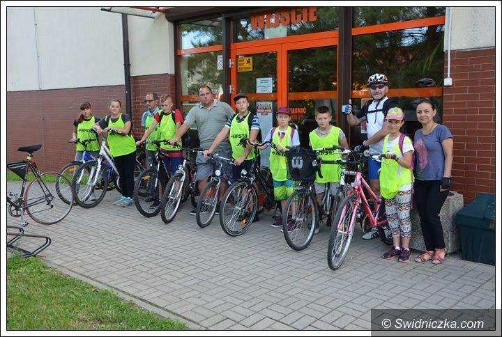 Żarów: Cykliści z wizytą w Morawie