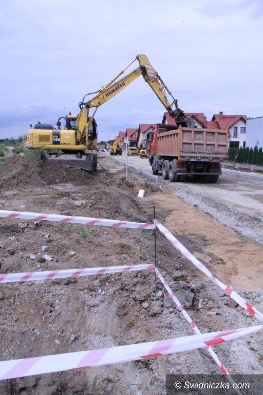 Świebodzice: Ruszyła największa inwestycja drogowa w Świebodzicach