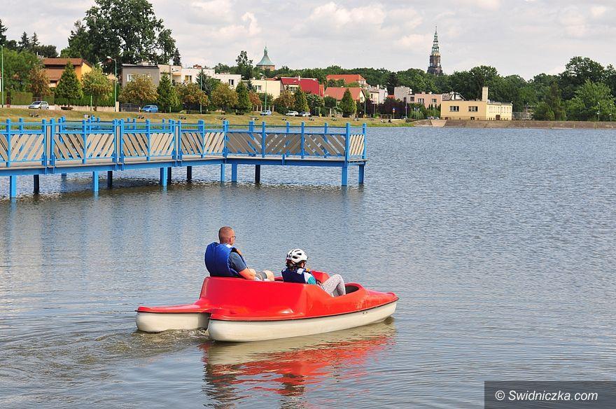 Świdnica: Coraz piękniej nad zalewem