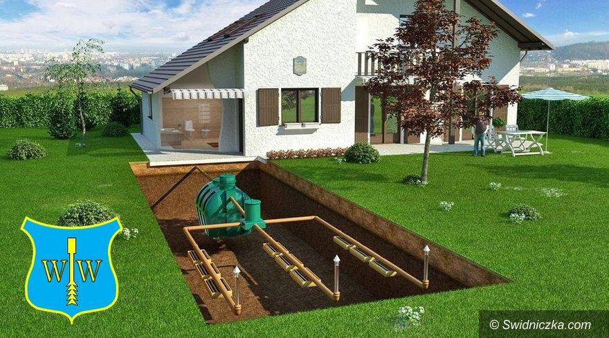 Gmina Dobromierz: Dofinansowanie budowy przydomowych oczyszczalni ścieków