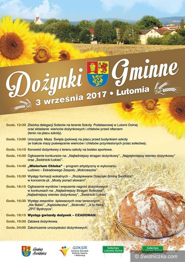 Lutomia Dolna/Lutomia Górna: Przed nami diecezjalne dożynki