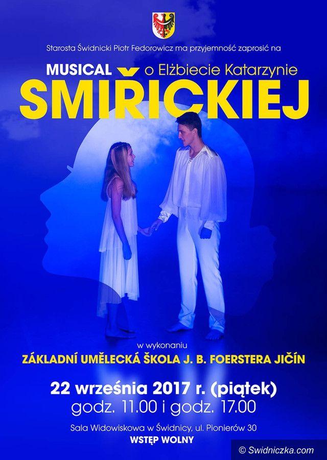 Świdnica: Musical o Elżbiecie Katarzynie Smiřickiej
