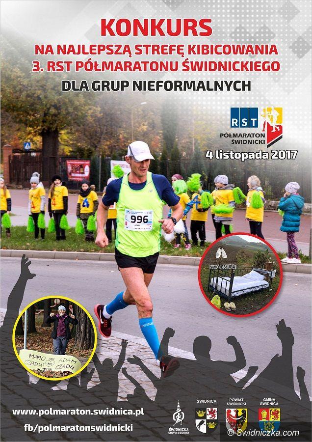 Świdnica: Zgarnij nagrody za kibicowanie podczas 3.RST Półmaratonu Świdnickiego