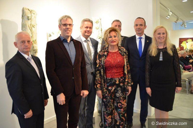 powiat świdnicki: Order Uśmiechu dla artystki i społeczniczki z partnerskiego Powiatu Bergstrasse