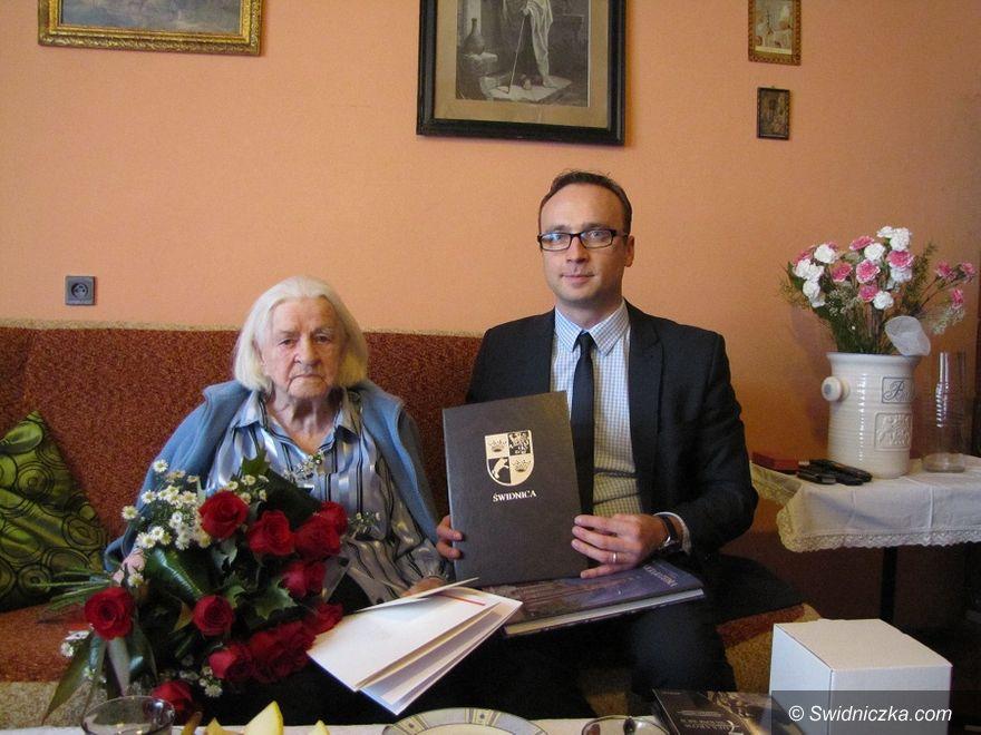 Świdnica: 100 urodziny świdniczanki Ireny Mesek