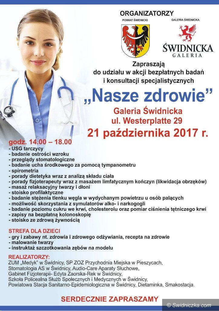 Świdnica/powiat świdnicki: Bezpłatne badania dla mieszkańców