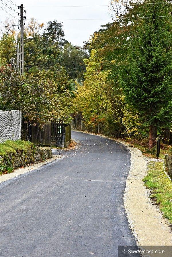 Witoszów Dolny: Nowa droga do gruntów rolnych