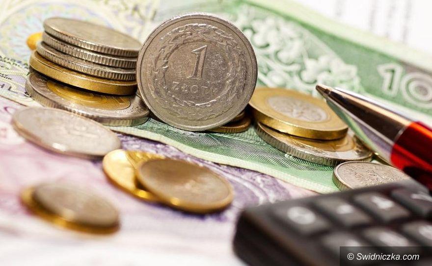 Świebodzice: Więcej w budżecie
