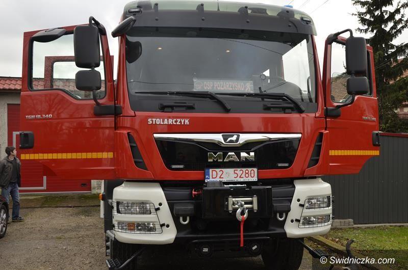Pożarzysko: Nowy wóz strażacki już w Pożarzysku