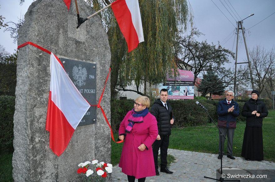 Boleścin: Odsłonięcie pomnika w Boleścinie