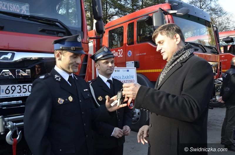 Pożarzysko: Strażacy z Pożarzyska odebrali kluczyki do nowego wozu