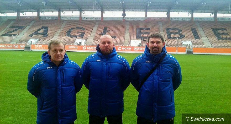 Strzegom: Staż trenerski trzech trenerów drużyn młodzieżowych